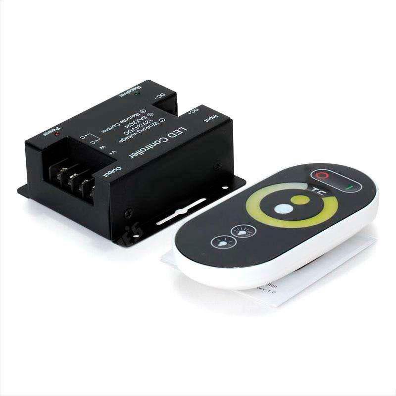 Controlador monocolor DUAL RF + mando táctil
